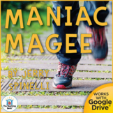 Maniac Magee Novel Study Book Unit
