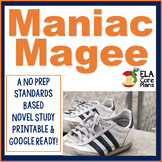 Maniac Magee Novel Unit ~ Activities, Handouts, Tests!