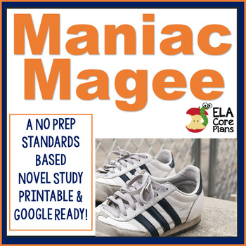 Maniac Magee Novel Unit ~ Activities, Handouts, Tests!