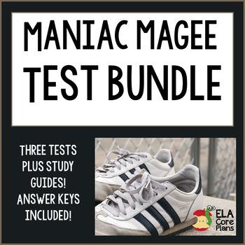 Maniac Magee Tests ~ 3 Tests Bundle