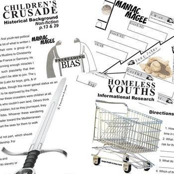 Maniac Magee Unit Novel Study - Literature Guide