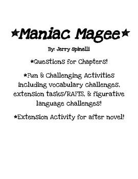Maniac Magee Unit of Study!