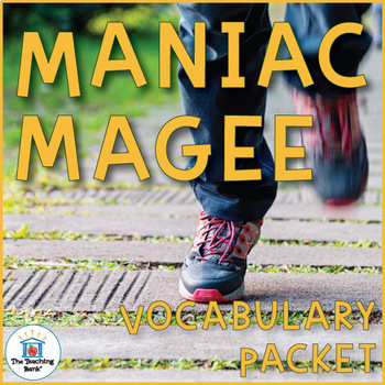 Maniac Magee Vocabulary Activities and Vocabulary Games | Jerry ...