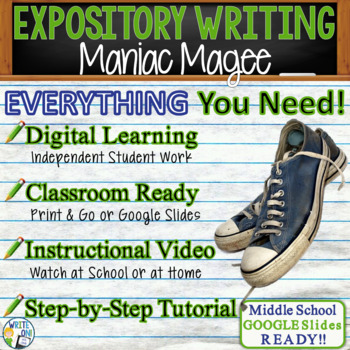 Maniac Magee by Jerry Spinelli - Text Dependent Analysis Expository Writing
