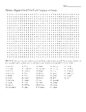Maniac Magee chs 1-15 word find