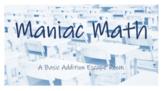 Maniac Math: A Basic Addition Escape Room