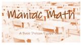 Maniac Math: A Basic Division Escape Room