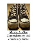 Maniac McGee Guided Reading Unit Level W