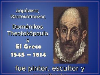 Manierismo - El Greco & No estilo - Botero