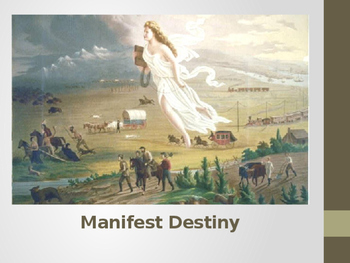 Manifest Destiny and Vocabulary: Introduction to Westward Expansion