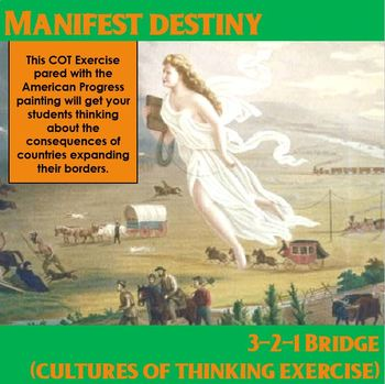 Manifest Destiny 3-2-1 Bridge COT Activity