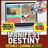 Manifest Destiny Activity