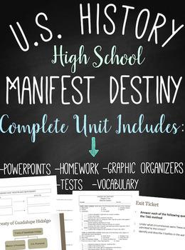 Manifest Destiny: American History High School Unit