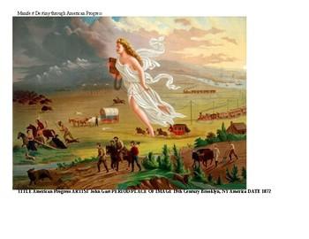Manifest Destiny - American Progress Painting