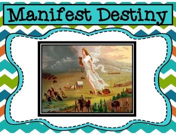 Manifest Destiny Analysis of American Progress Painting by John Gast Activity