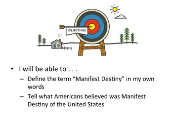 Manifest Destiny - BYOD (bring your own device) Intro Activity