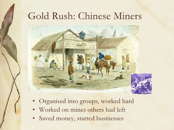 Manifest Destiny- California Gold Rush DETAILED LESSON PLAN