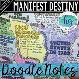 Manifest Destiny Doodle Notes