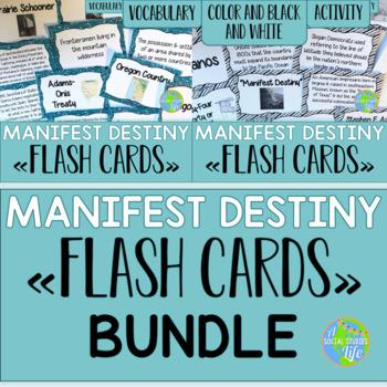 Manifest Destiny Flash Cards BUNDLE