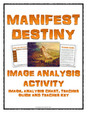 Manifest Destiny - Image Analysis Activity (Image Analysis Chart, Teacher Guide)
