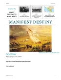 Manifest Destiny Inquiry Lessons & Project
