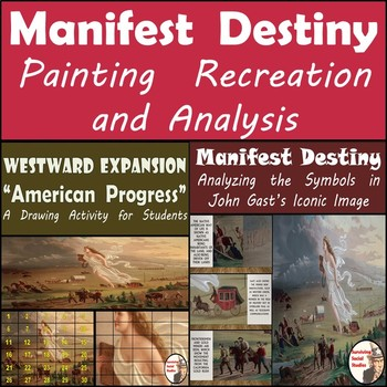 "Manifest Destiny - John Gast's ""Amerian Progress"" Painting"