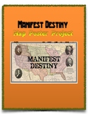 Manifest Destiny Map Poster Project