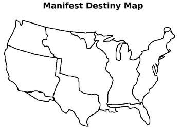 Manifest Destiny Map Sort - 3 part