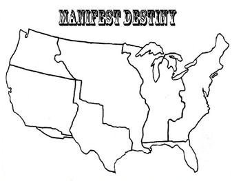 Manifest Destiny Lesson Plan _ANTx07x14o25 | history | Pinterest ...
