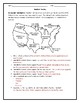 Manifest Destiny Map Worksheet with Answer Key