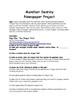 Westward Expansion Project (Manifest Destiny Newspaper)