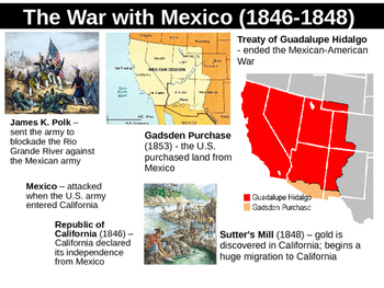 Manifest Destiny Powerpoint Notes