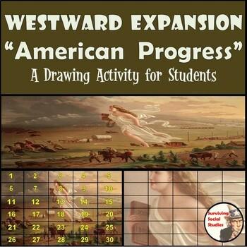 "Manifest Destiny - Recreating the ""American Progress"" Painting"