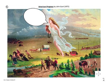 Manifest Destiny Scavenger Hunt / Document Analysis Lesson