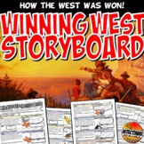 Manifest Destiny Storyboard Stations or PowerPoint Graphic