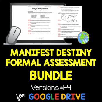 Manifest Destiny Test BUNDLE