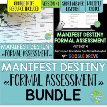 Manifest Destiny Test - Version #1 BUNDLE