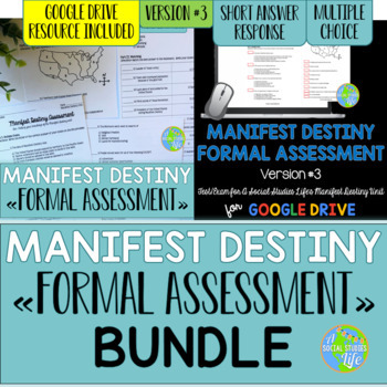Manifest Destiny Test - Version #3 BUNDLE