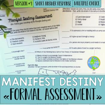 Manifest Destiny Test - Version #4