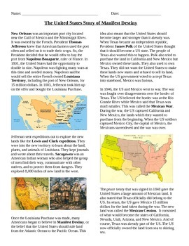 Manifest Destiny: The Story