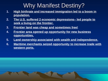 Manifest Destiny: Trails to the West