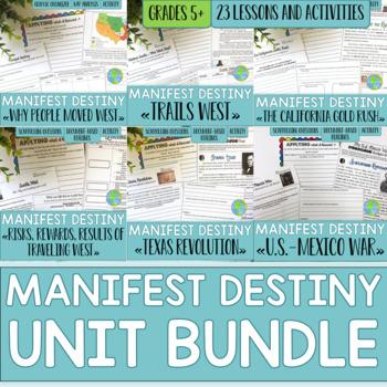 Manifest Destiny UNIT BUNDLE with BONUS Card Sets