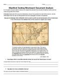 Manifest Destiny/Westward Expansion Document Analysis