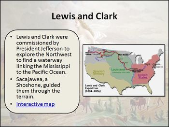 Manifest Destiny and the Acquisition of Land Differentiated PowerPoint