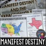 Manifest Destiny & the Expansion of the United States PowerPoint & Guided Notes