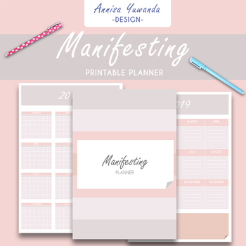 Manifesting Printable Planner