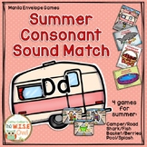 Beginning Sound Match Manila Folder Games (Summer)