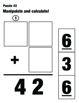 Addition and Subtraction Puzzles: Manipulate and Calculate