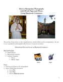 Manipulating Photos Using iWork Pages and iPhoto