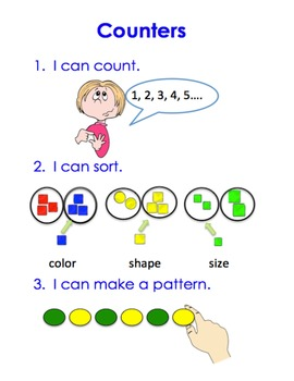Manipulative Counters I Can Chart